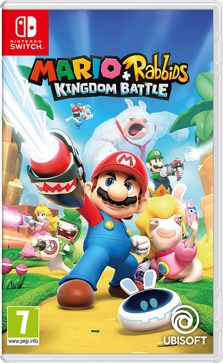 Mario Rabbids Kingdom Battle Nintendo Switch Games Nintendo