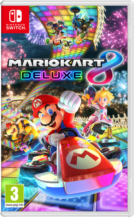 mario kart 8 deluxe nintendo switch jeux nintendo. Black Bedroom Furniture Sets. Home Design Ideas