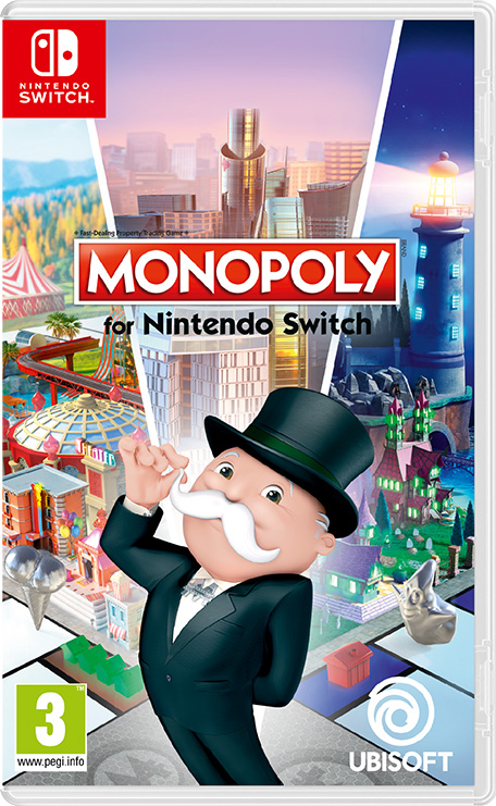 monopoly for nintendo switch nintendo switch games. Black Bedroom Furniture Sets. Home Design Ideas