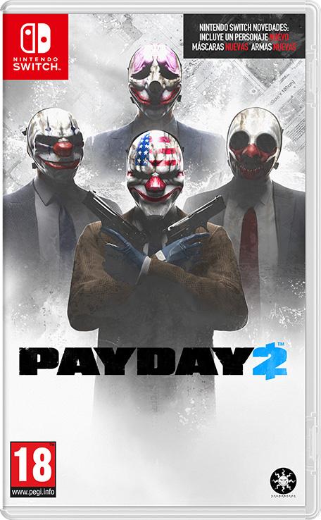 Payday 2 Nintendo Switch Juegos Nintendo