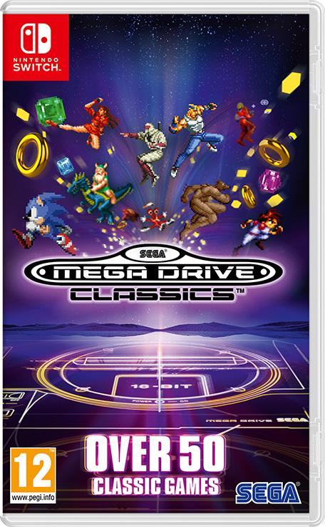 Resultado de imagem para Sega Megadrive Classics switch