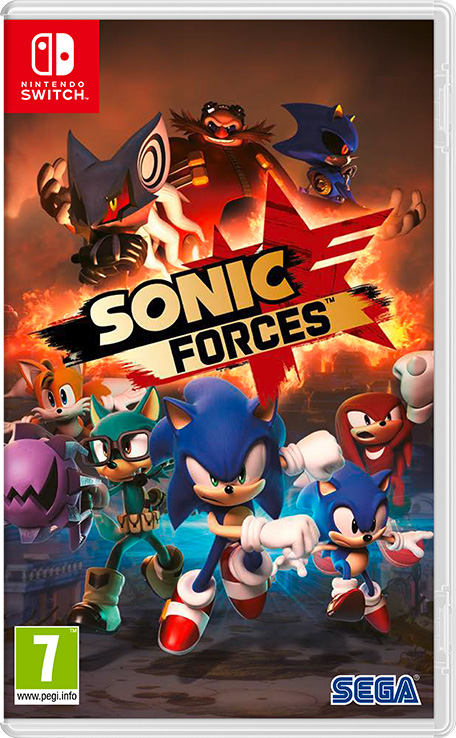 Sonic Forces Nintendo Switch Juegos Nintendo
