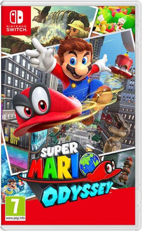 Super Mario Odyssey Nintendo Switch Juegos Nintendo