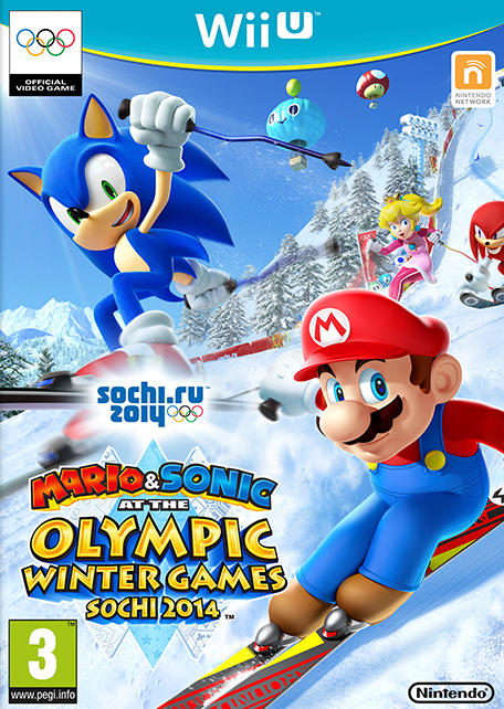 Mario Wii U Games : Mario sonic at the sochi olympic winter games wii