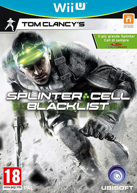 Tom Clancy S Splinter Cell 174 Blacklist Wii U Giochi