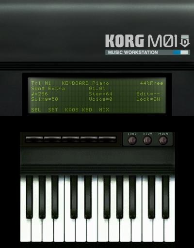 KORG M01D | Nintendo 3DS download software | Games | Nintendo