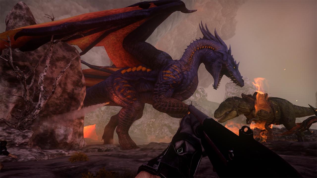 Image of: Cat Rockstar Games Ark Survival Evolved Nintendo Switch Games Nintendo