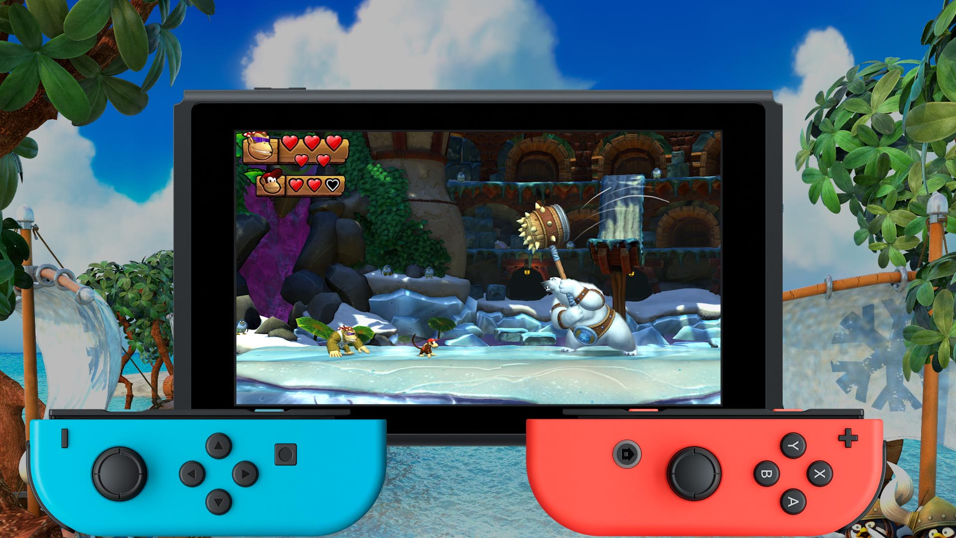 Donkey Kong Country Tropical Freeze Review image 4