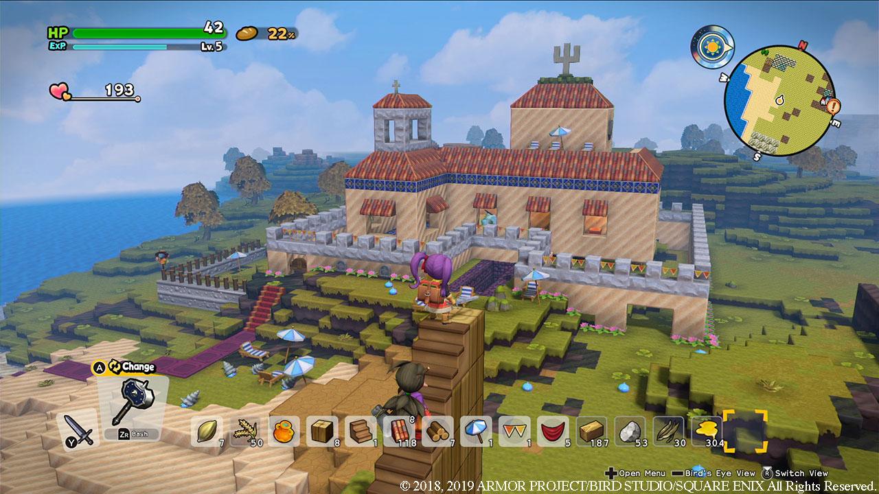 Картинки по запросу Dragon Quest Builders 2