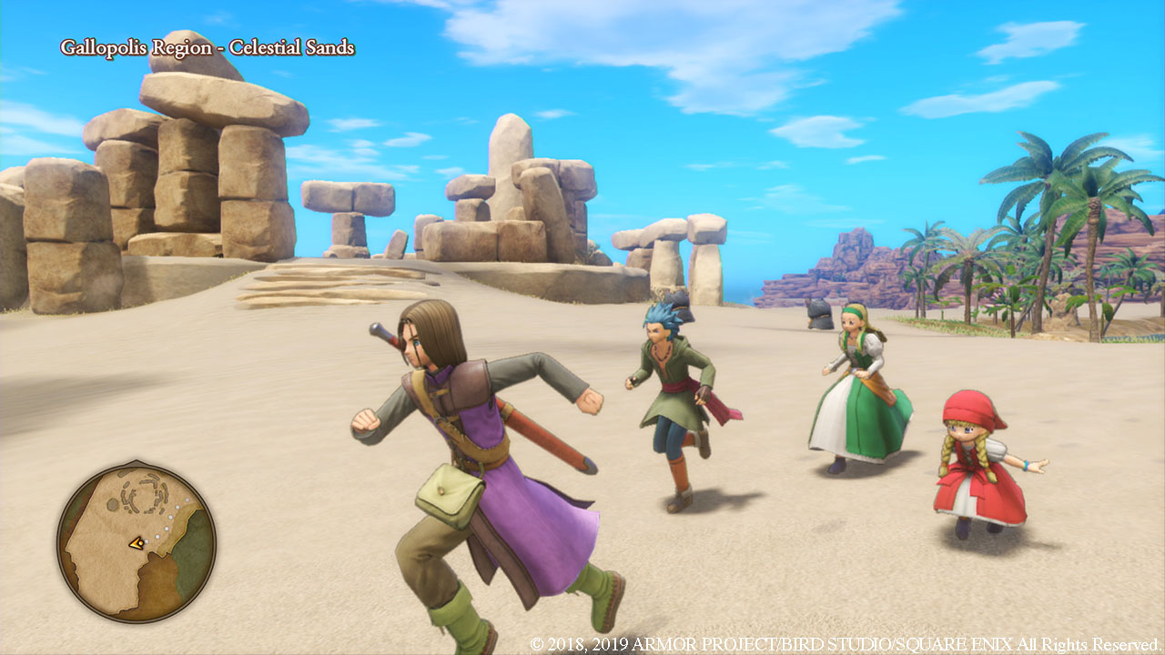 DRAGON QUEST® XI S: Echoes of an Elusive Age – Definitive