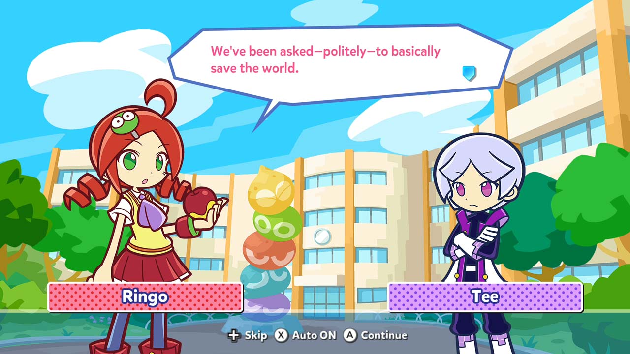 Puyo Puyo Tetris Nintendo Switch Games Nintendo