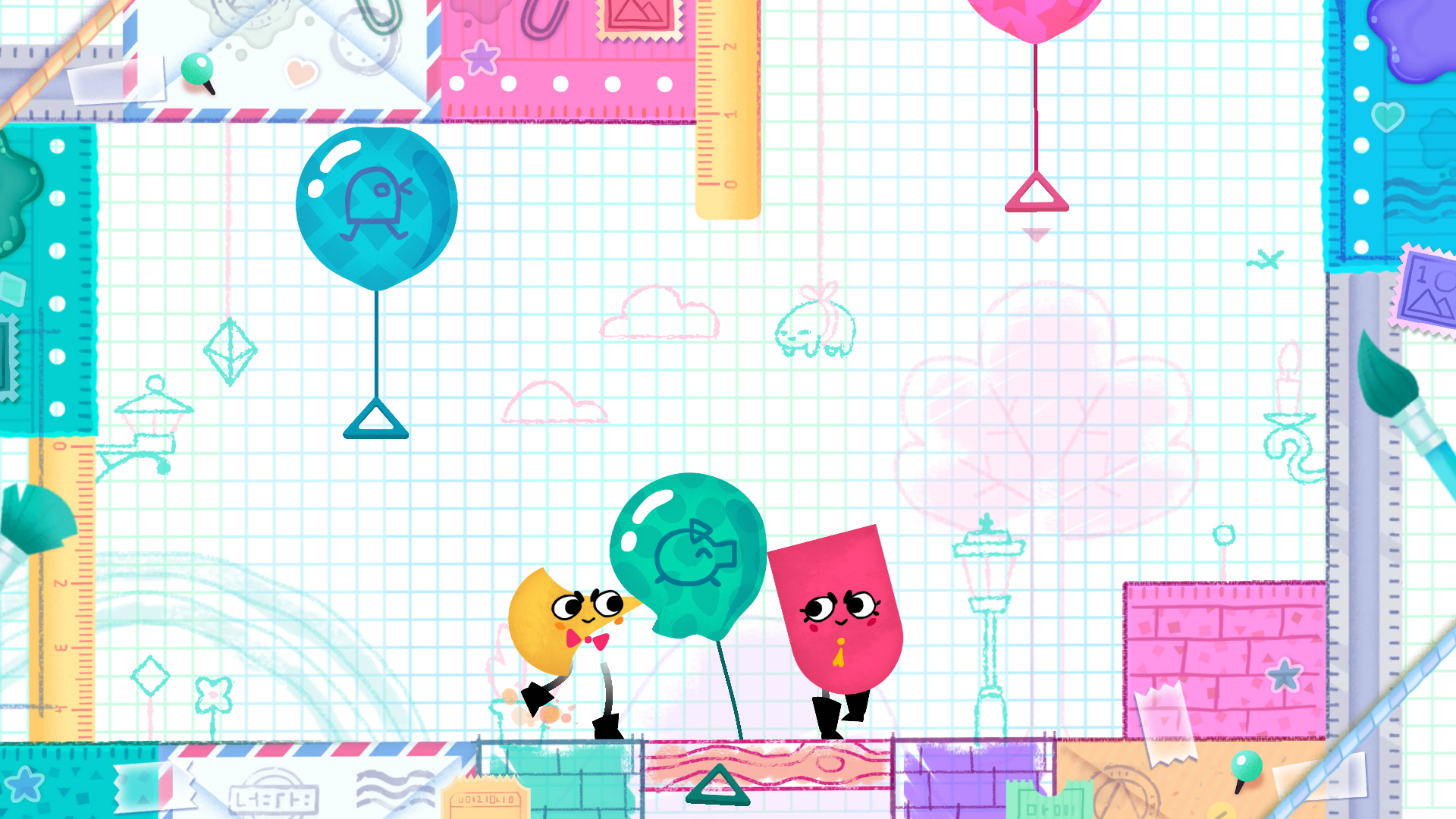 Snipperclips – Cut it out, together! | Nintendo Switch