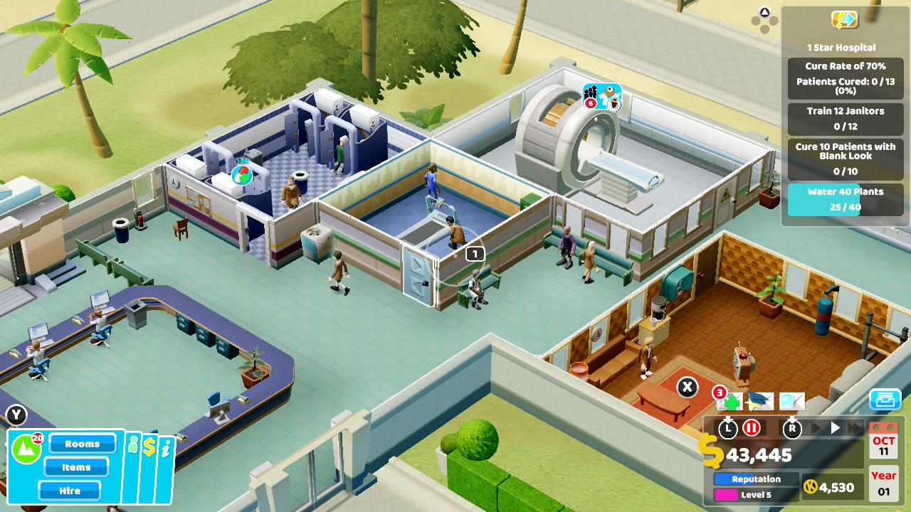 Two Point Hospital™ | Nintendo Switch | Jogos | Nintendo