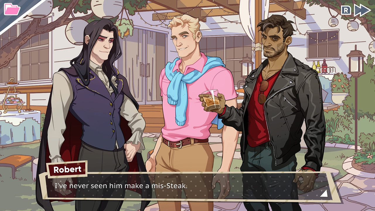 Dream Daddy A Dad Dating Simulator Nintendo Switch