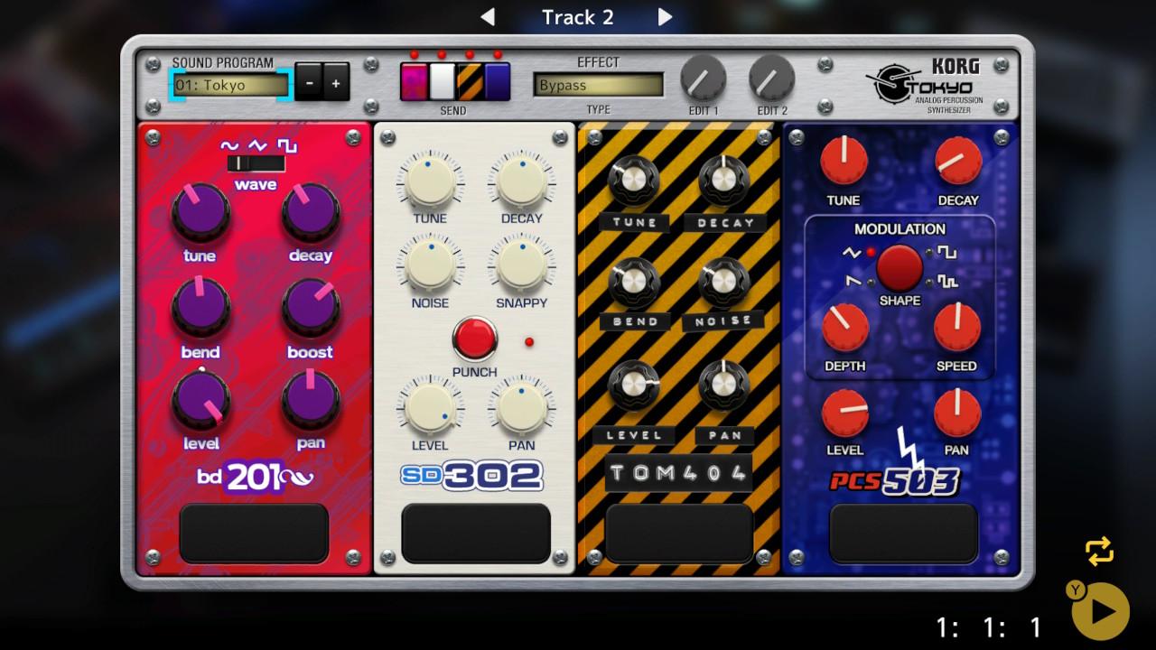 KORG Gadget for Nintendo Switch | Nintendo Switch download software