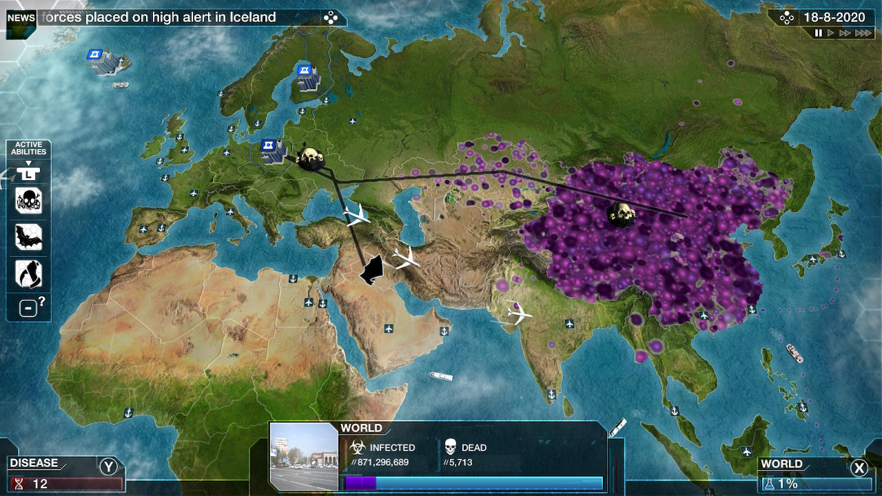 Image of: Plague Inc Evolved Nintendo Switch Download Software Games Nintendo