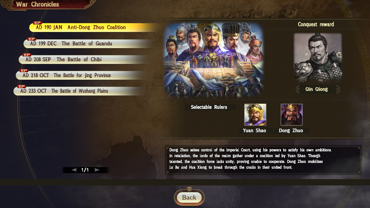 Romance of the Three Kingdoms XIV Diplomacy and Strategy pack