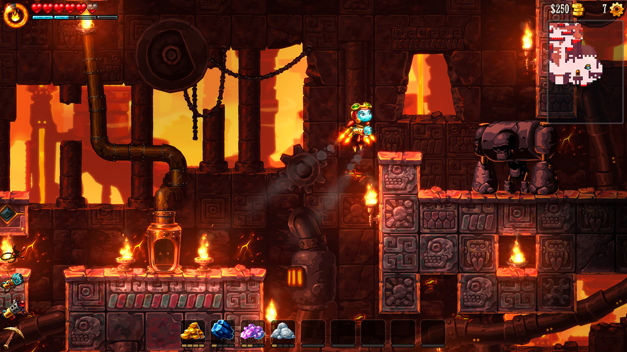 Steamworld Dig 2 Review Nintendo Switch image 1