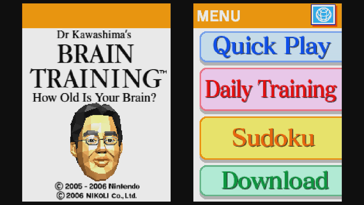 Image result for brain age nintendo ds