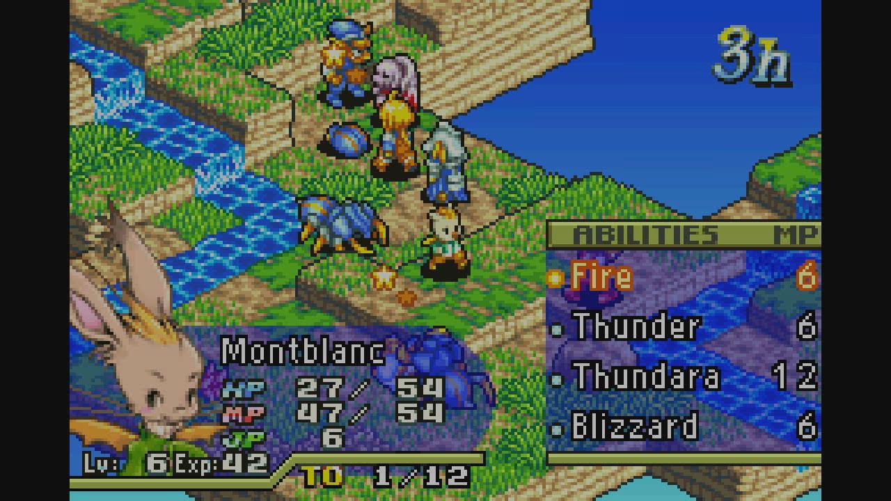 Final Fantasy 6 Rom final fantasy tactics advance | game boy advance | games