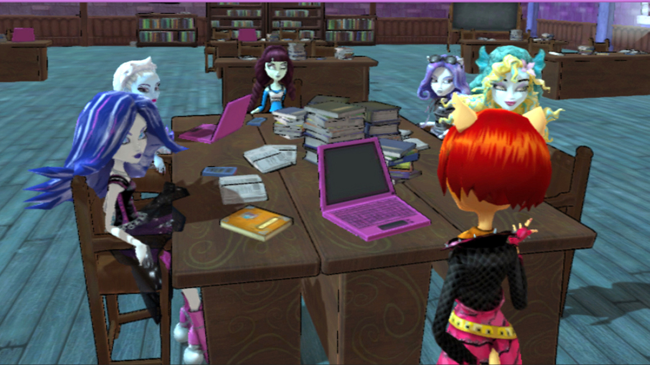 ¡Viste a Abbey Bominable para su primer día de clase en Monster High!