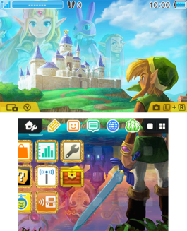 Legend of Zelda: A Link Between Worlds: Two Worlds