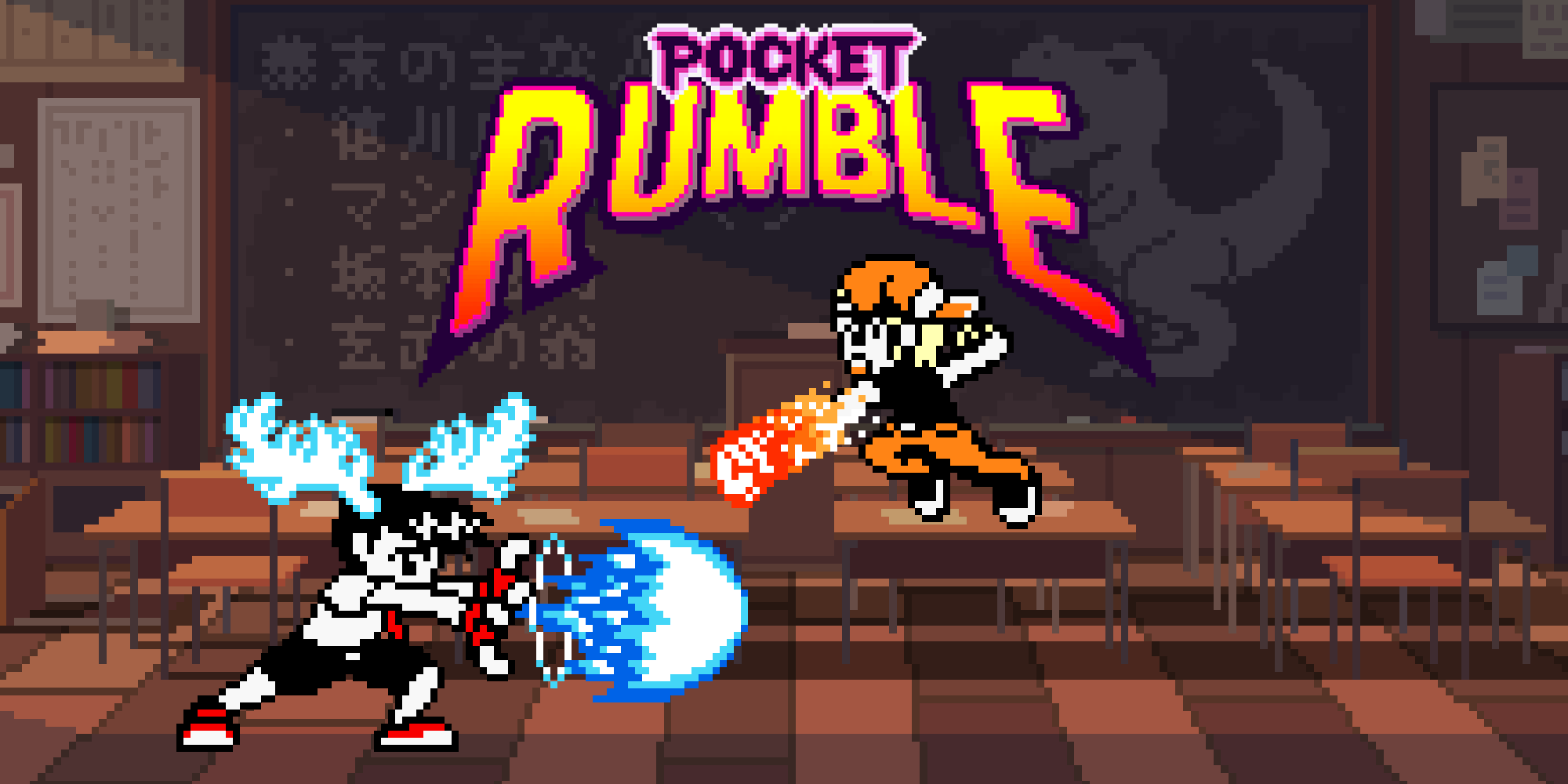 Interview: Pocket Rumble, the Nintendo Switch fighting game inspired by Neo Geo Pocket Color