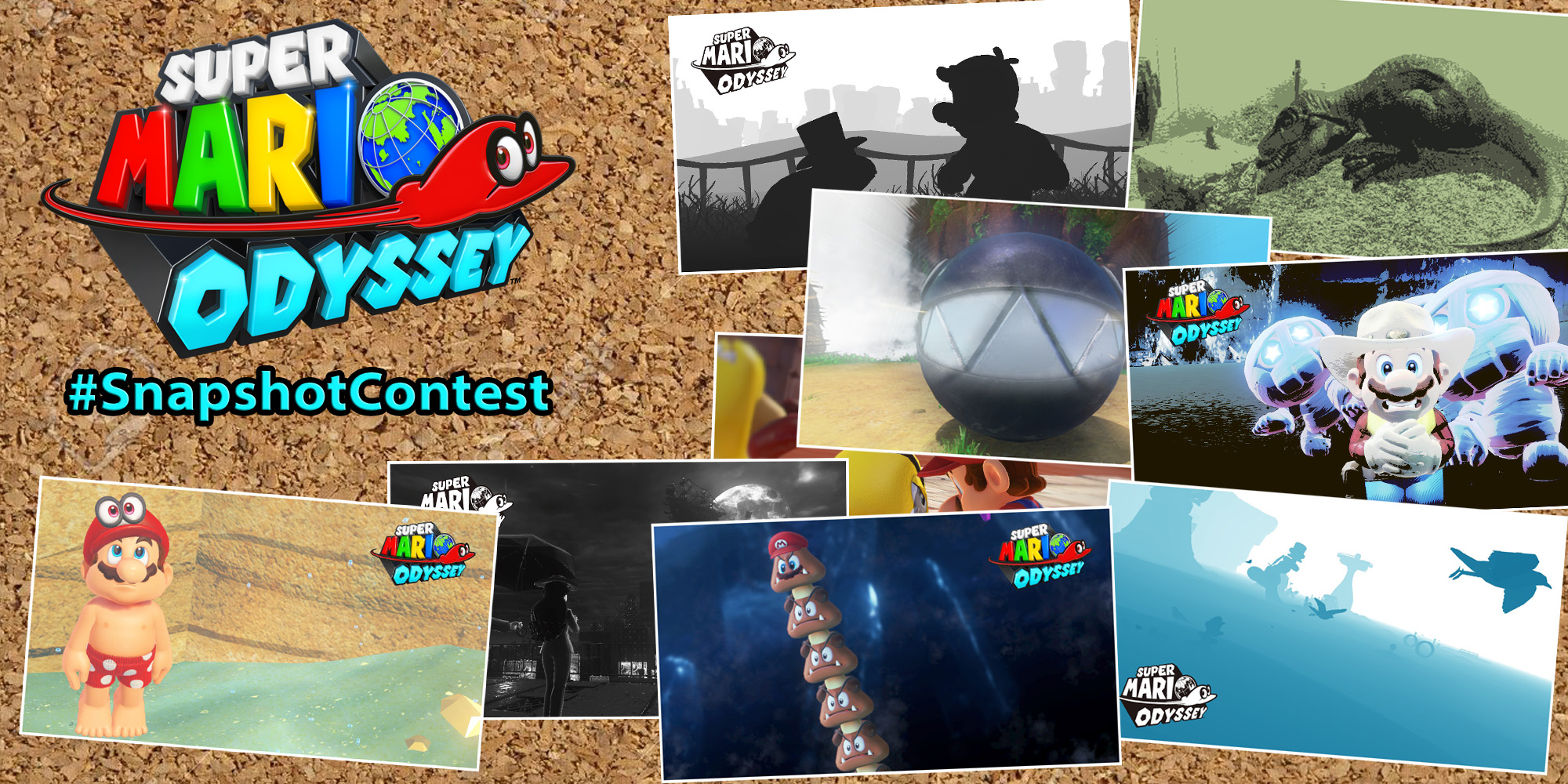 Share your Super Mario Odyssey snaps in our #SnapshotContest