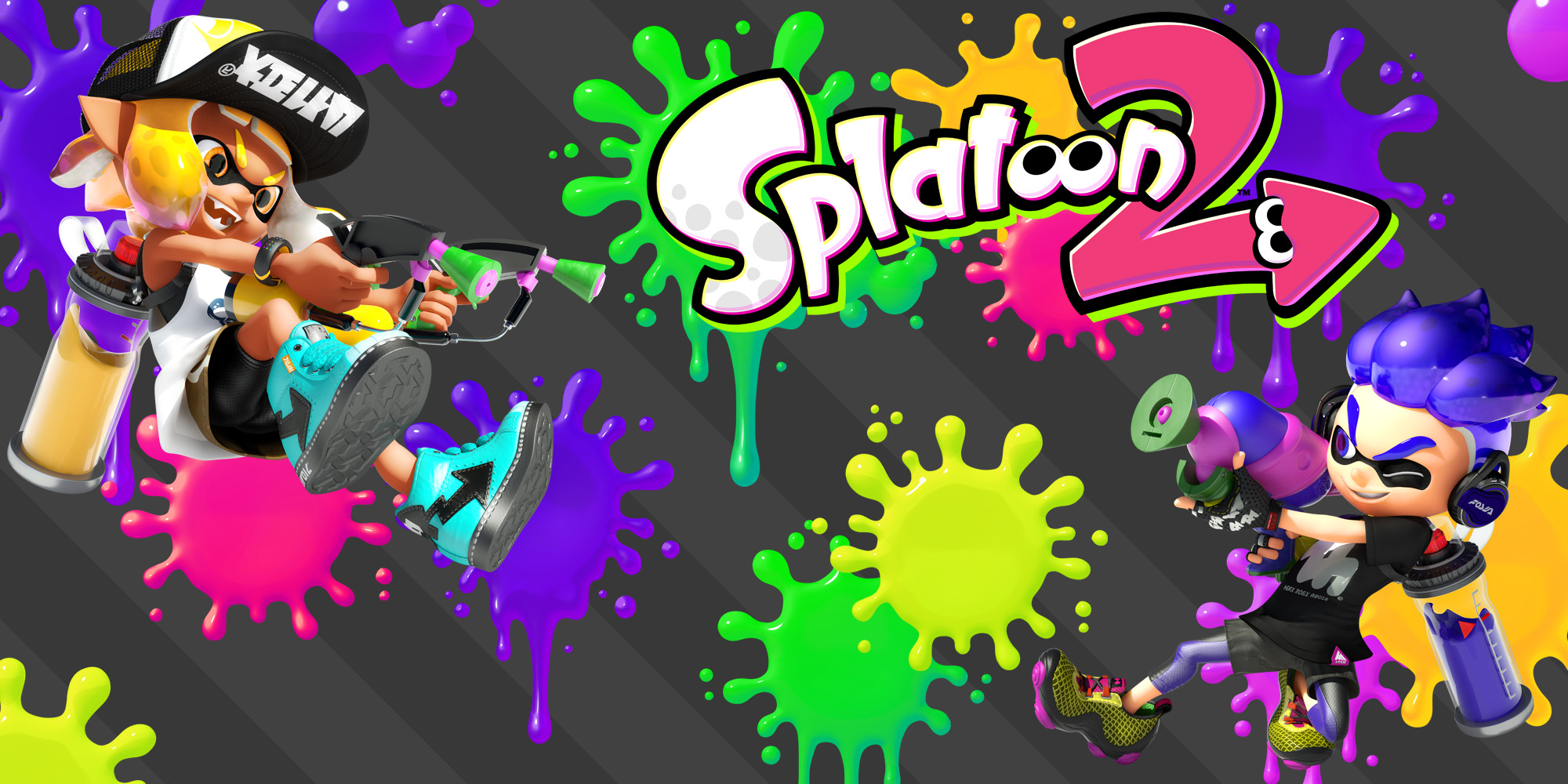 find out what stages and weapons will be available in the splatoon 2