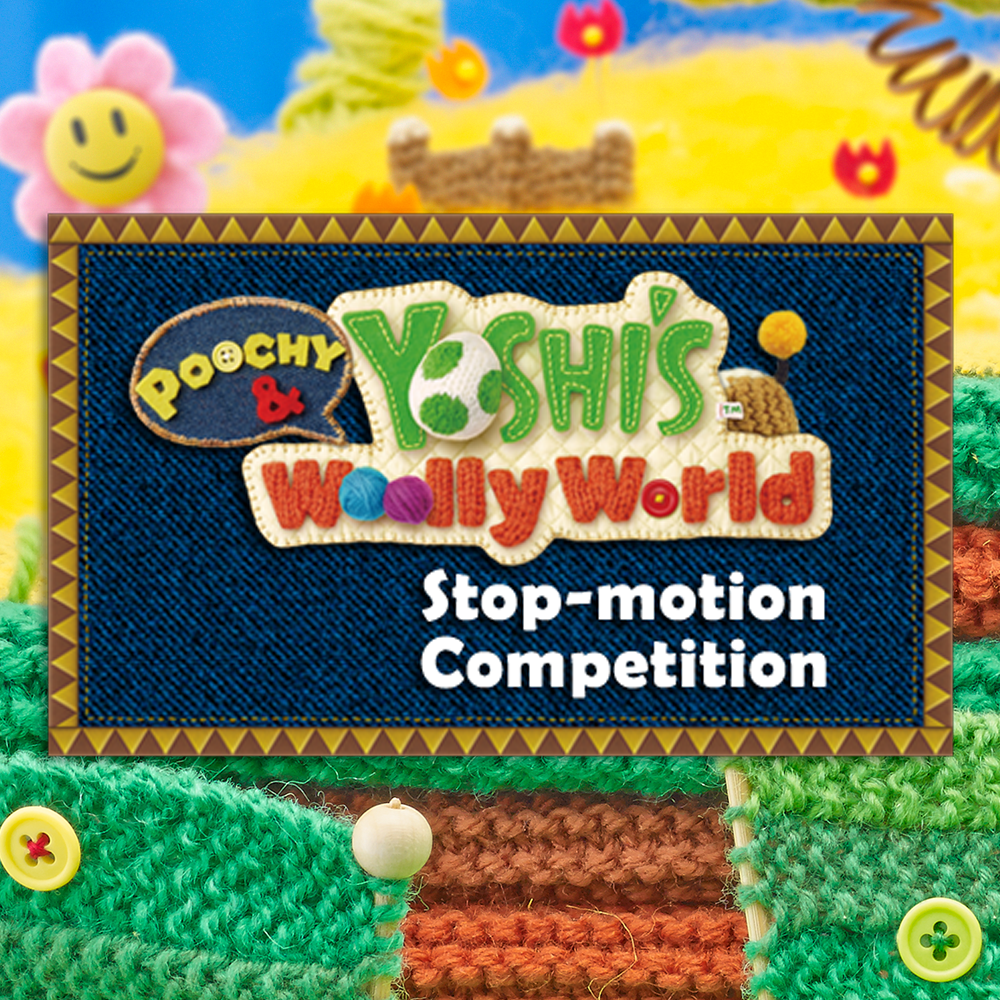 Poochy & Yoshi's Woolly World stop-motion competition