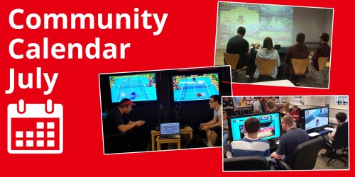 Nintendo UK Community Calendar: July