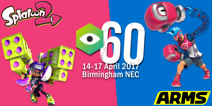Play ARMS and Splatoon 2 at Insomnia60!