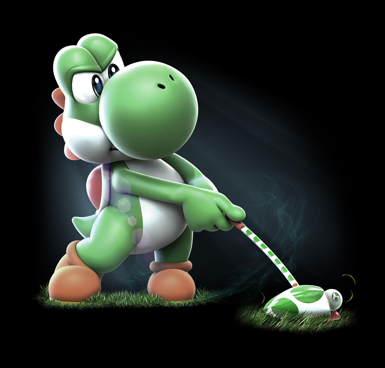 Yoshi Angry Compete to be the best...