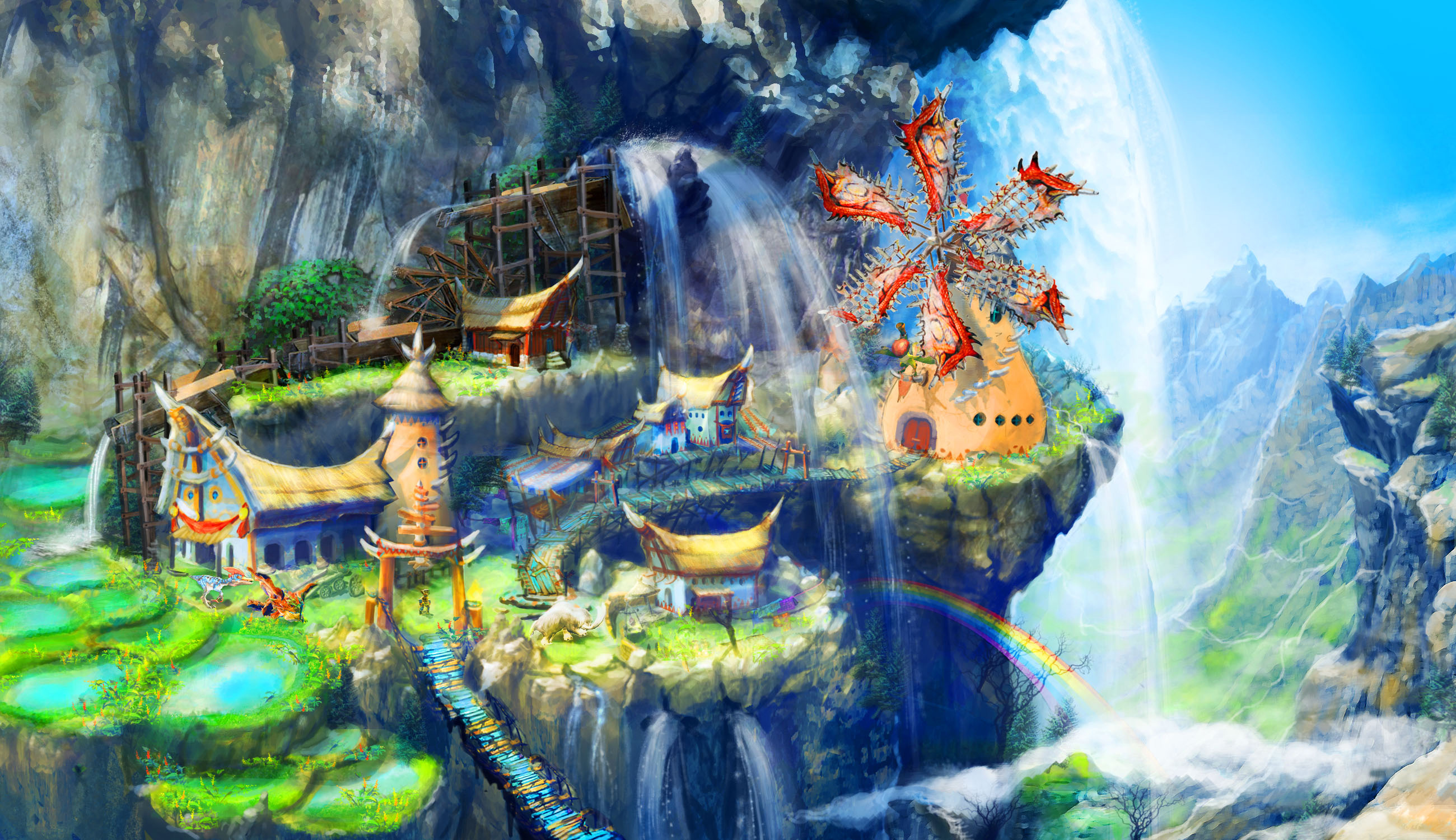 Afbeeldingsresultaat voor monster hunter stories game
