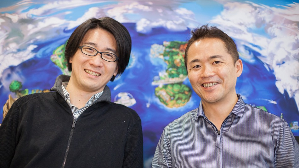 Shigeru Ohmori (pictured left) and Junichi Masuda (pictured right)