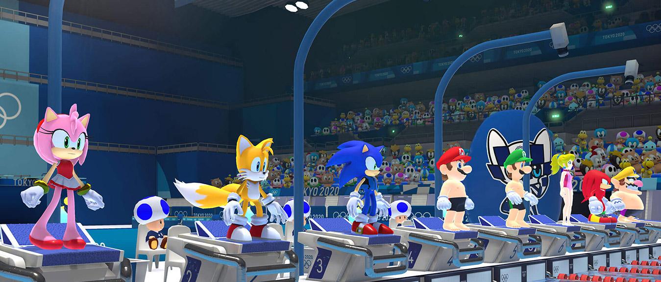 Mario Sonic Op De Olympische Spelen Tokio 2020 Nintendo Switch Games Nintendo