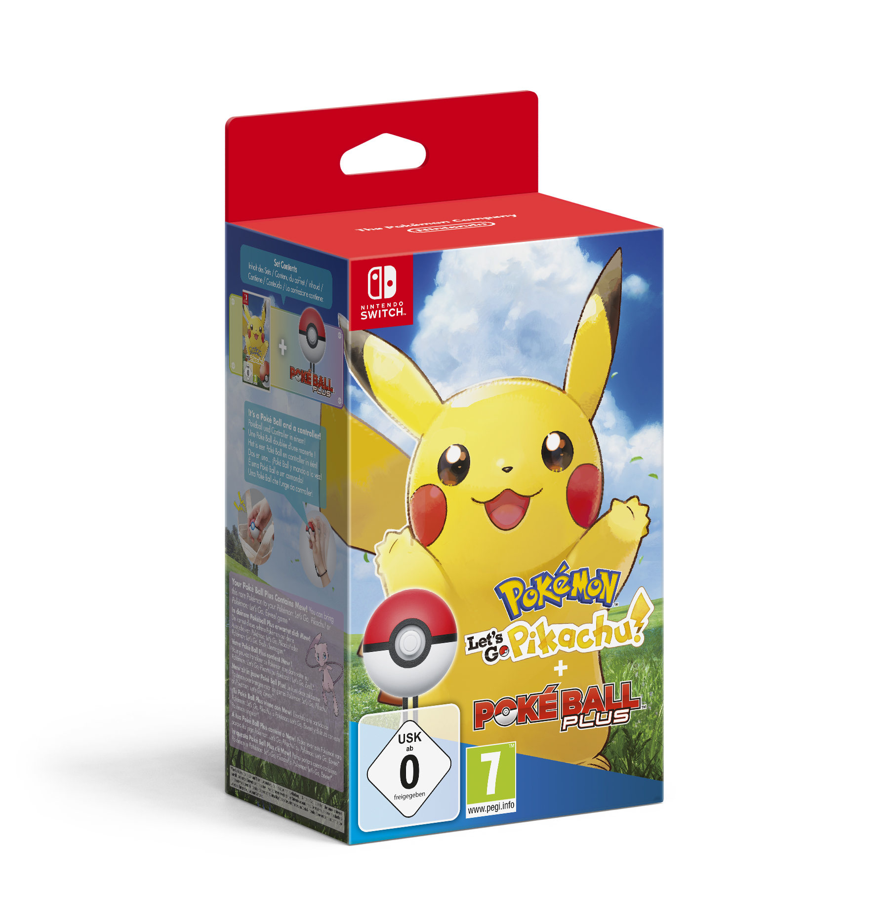Pokemon Let S Go Pikachu Nintendo Switch Juegos Nintendo