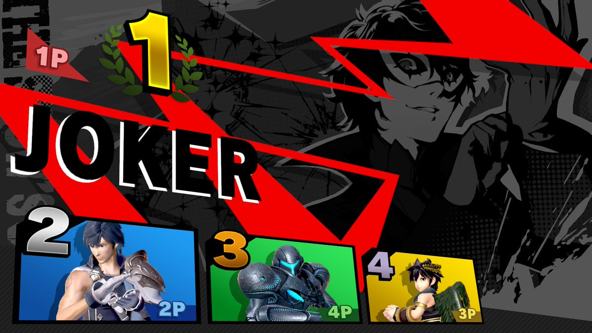 Get more info on Persona 5's Joker in Super Smash Bros