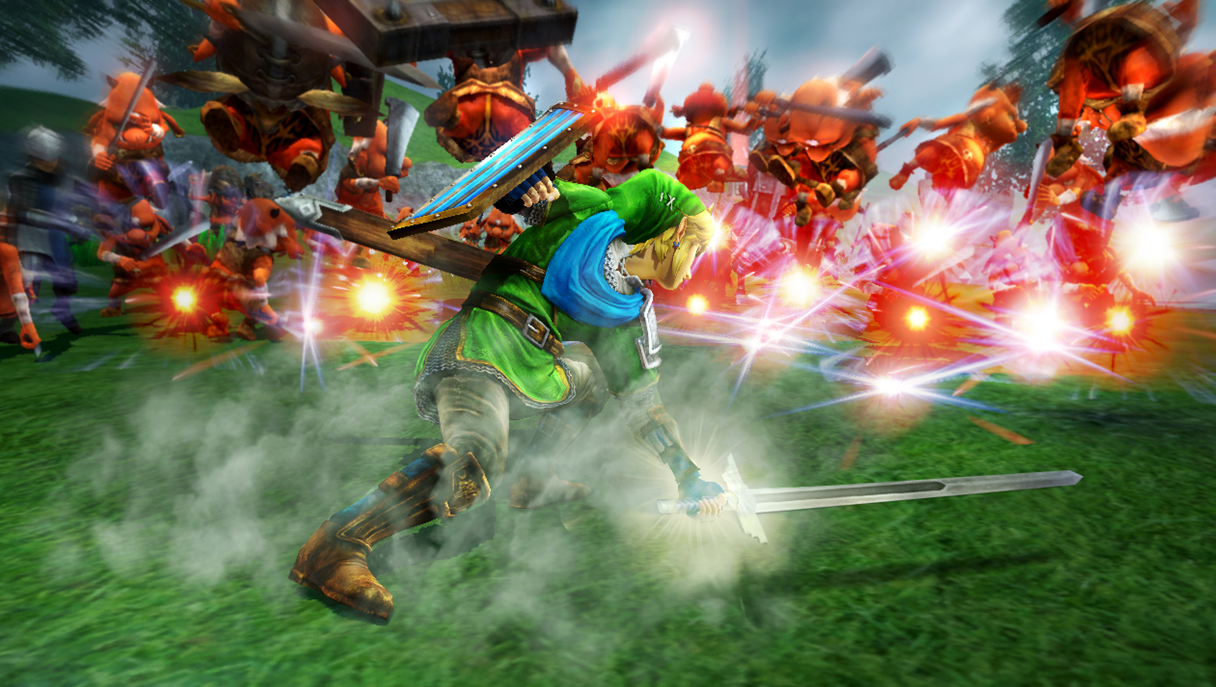 CI16_WiiU_HyruleWarriors_LinkFightingEnemies.png