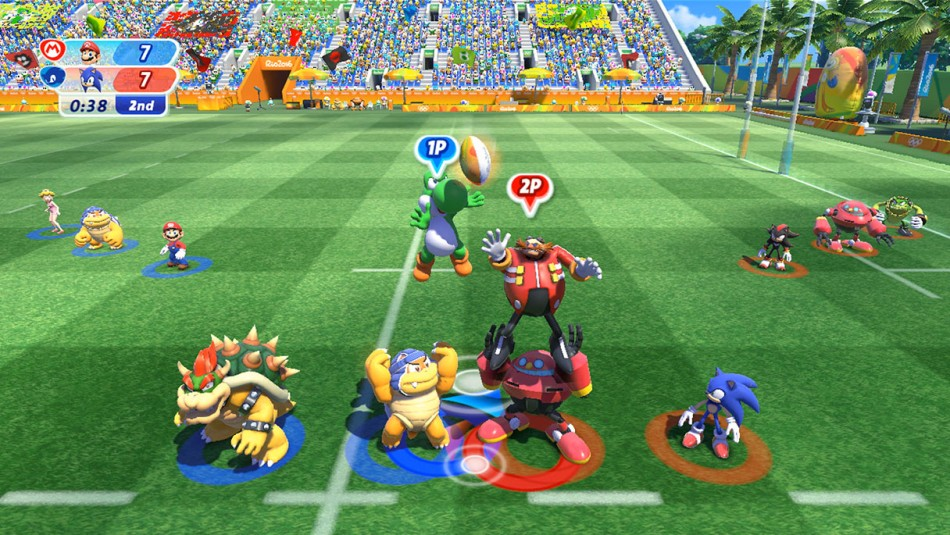 Mario & Sonic at the Rio 2016 Olympic Games™   Wii U   Games   Nintendo
