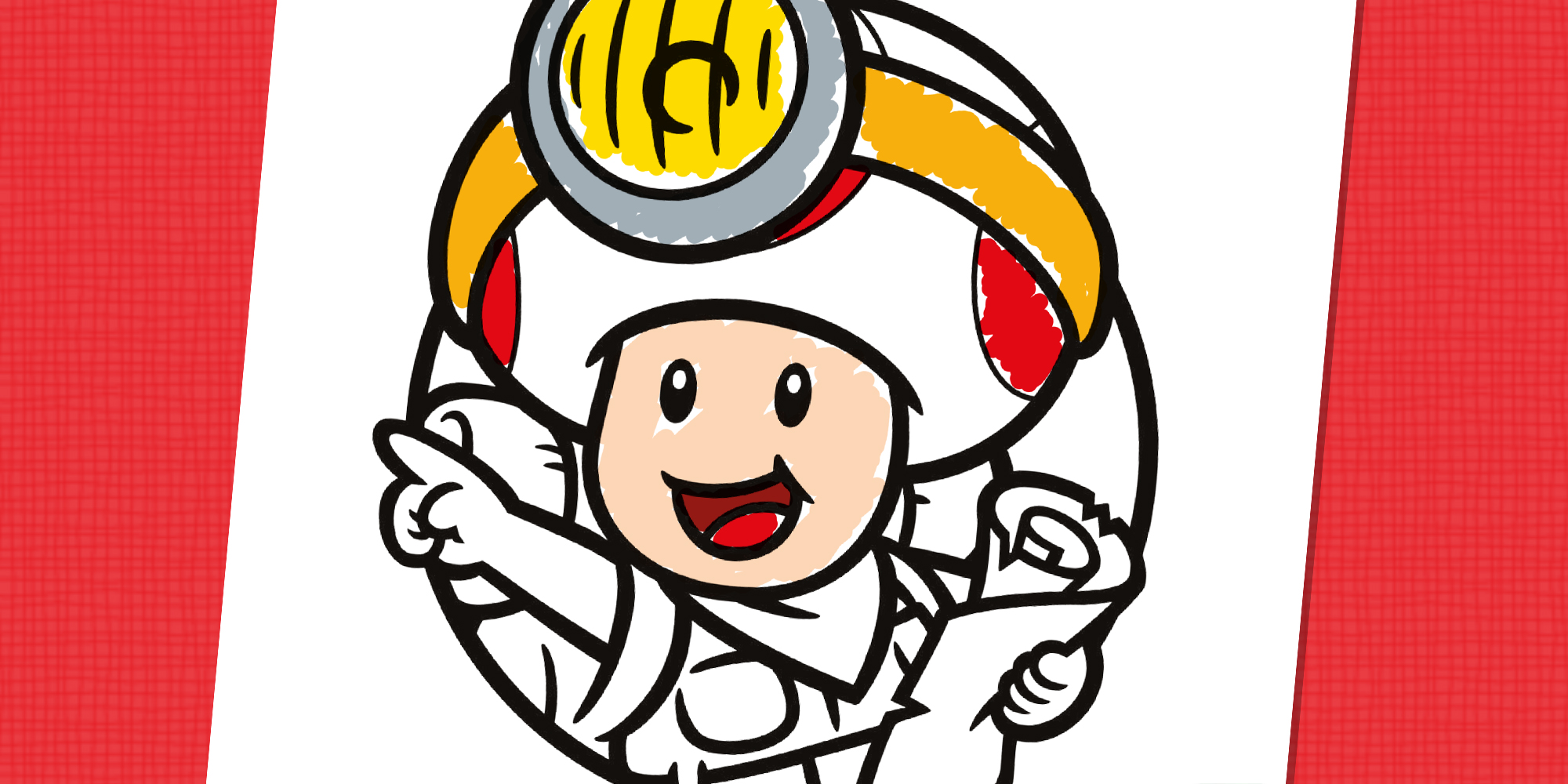 Capitaine Toad A Colorier Nintendo Kids