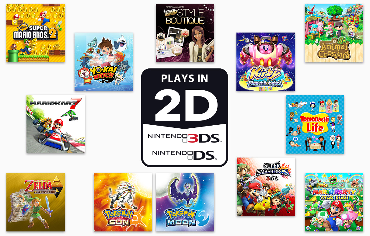 Nintendo 2ds nintendo 3ds family nintendo - Can you play 3ds games on 2ds console ...