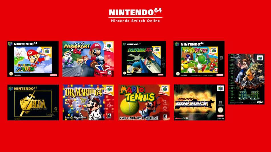 Nintendo Switch gry z Nintendo 64