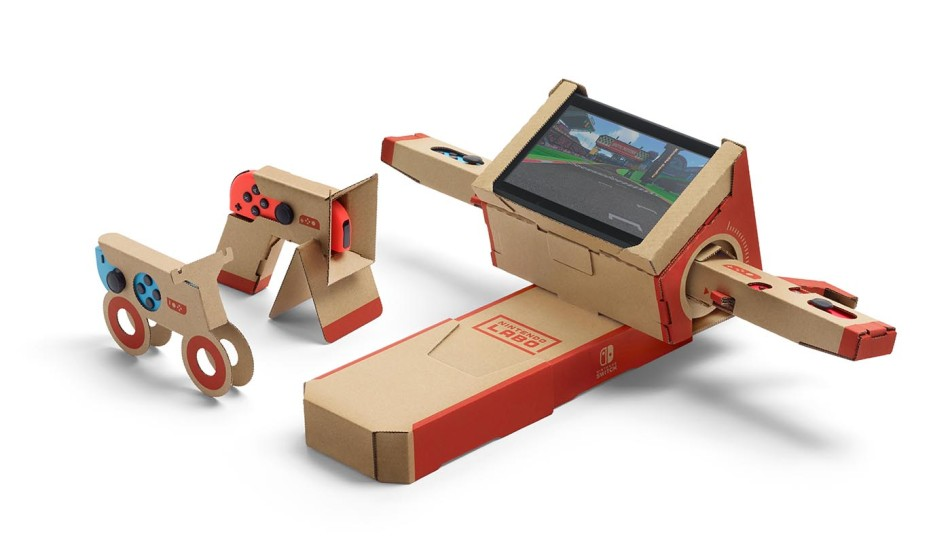 nintendo labo combines fun interactive make play and discover experiences with nintendo switch. Black Bedroom Furniture Sets. Home Design Ideas