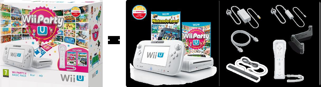 Hardware packs | Wii U | Nintendo