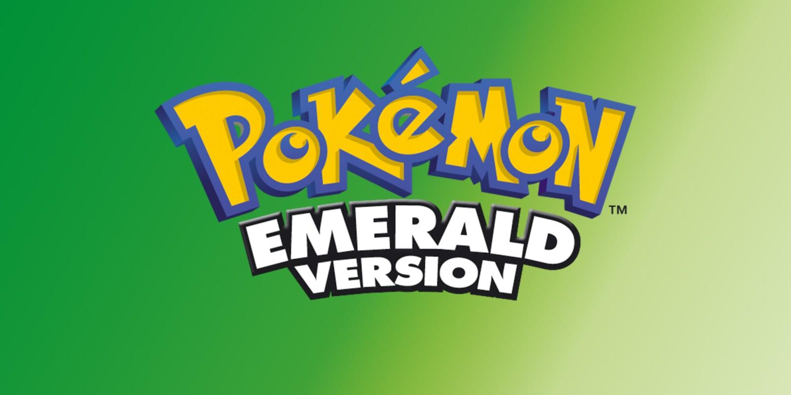 Pok mon Emerald Version USA - Nintendo Gameboy Advance (GBA) rom download