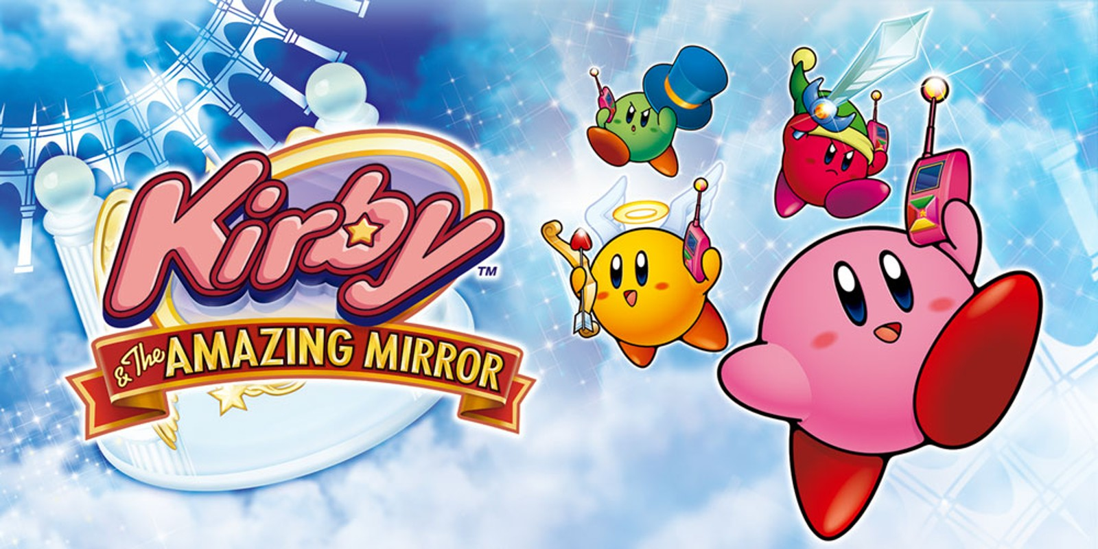 Image result for kirby and the amazing mirror