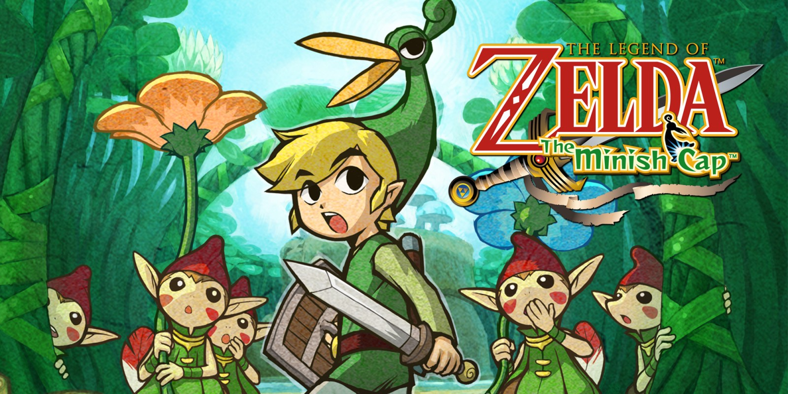 The Legend Of Zelda The Minish Cap Game Boy Advance Juegos