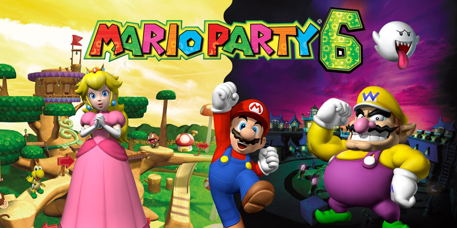 gamecube mario party 6