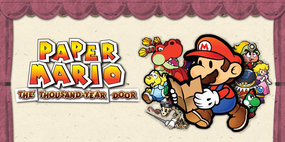 Paper Mario The Thousand Year Door Nintendo Gamecube